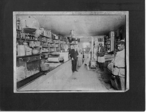 General Store Frank Calhoon? (Anna L and John F Nash Collection)