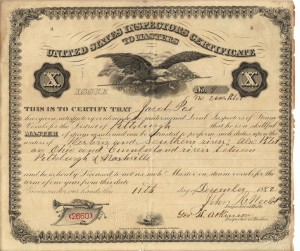 Jacob Poe's Master License dated 11 Dec 1882 (F Nash Colleciton)