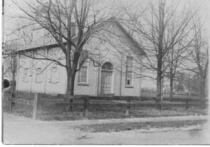 St Luke's Episcopal Church pre-1909 (AnnaL and John F Nash Collection)