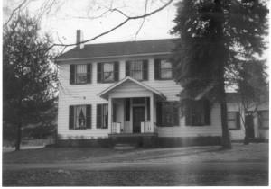 Capt GW Ebert Home ca 1950 (Anna L and John F Nash Collection)