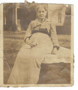 Mollie Ebert Trimble ca 1910 (Anna L and John F Nash Collection)