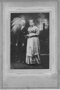 Mollie Ebert Trimble and John A Trimble ca 1910 (Anna L and John F Nash Collection)