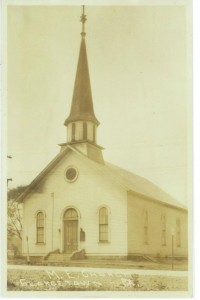 Georgetown United Methodist Church pre 1951 (Anna L and John F Nash Collection)