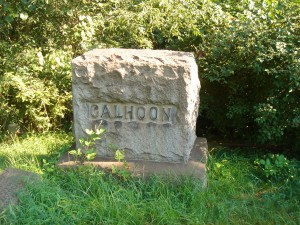 Thomas S Calhoon Family Stone 2008 (F Nash Collection)
