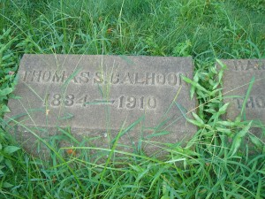 Thomas S Calhoon Marker 2008 (F Nash Collection)
