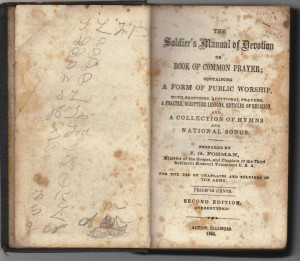 Soldier's Manual of Devotion - Title Page ( Anna L and John F Nash Collection)