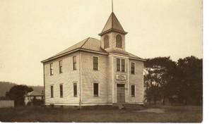 Georgetown Public School built 1902 (Anna L and John F Nash Collection)