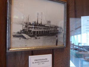 Photo of a photo in Ohio River Museum Marietta (F Nash Collection)