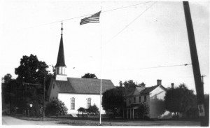 Georgetown Methodist Church pre 1940 (Anna L and John F Nash Collection)
