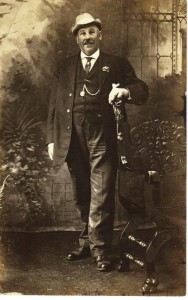Charles Edgar Poe ca 1900 (Frances and John Finlet Collection)