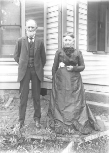 Capt Thomas S Calhoon and Harriet Amanda Calhoun ca 1900 GPN