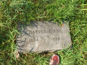 Charles Edgar Poe Georgetown Cemetery (F Nash Collection)
