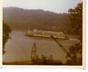 Delta Queen at Georgetown ca 1965