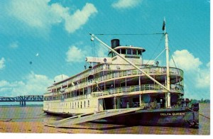 Delta Queent Postcard
