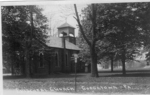 Georgetown Episcopal Church (Anna L and John F Nash Collection)