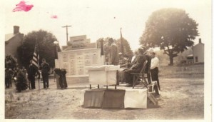 Georgetown Honor memorial Dedication 30 May 1944 (Anna L and John F Nash Collection)
