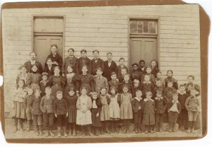 Georgetown School Class 1895 (Anna L and John F Nash Collection)