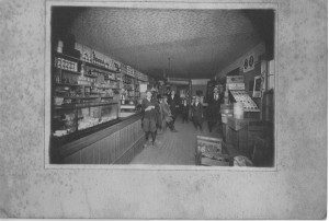General Store Wilkie Peppard? (Anna L and John F Nash Collection)