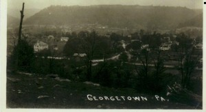 Georgetown looking north ca 1940