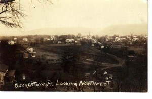 Georgetown looking NW ca 1910