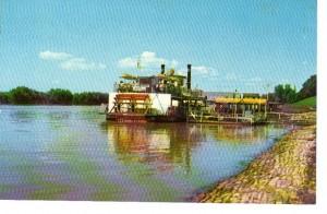 Memphis Queen II Postcard