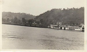 Monongahela at Georgetown ca 1950