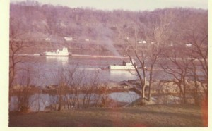 Ohio River at Georgetown 1964
