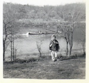 Ohio River at Georgetown ca1960