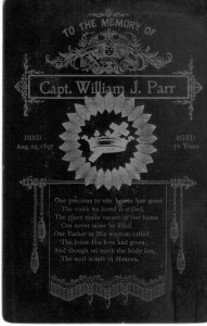 Capt William J Parr