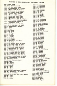 Georgetown United Methodist Church 100th Anniversary History p3