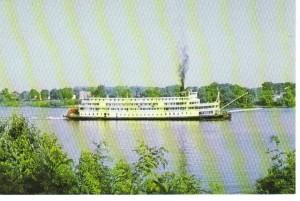 Str Delta Queen Postcard 091207