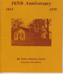 St Lukes History cover