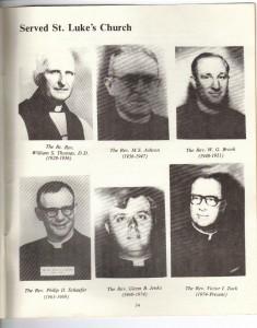 St Luke's Episcopal Church 165th Anniversary History pg 36 (Anna L and John F Nash Collection)