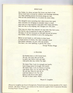 St Luke's Episcopal Church 165th Anniversary History pg 37 (Anna L and John F Nash Collection)