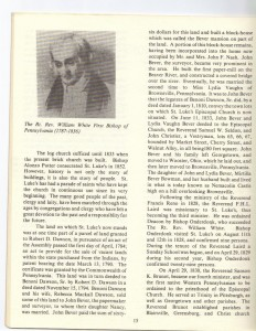 St Luke's Episcopal Church 165th Anniversary History pg 15 (Anna L and John F Nash Collection)