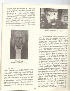 St Luke's Episcopal Church 165th Anniversary History pg 17 (Anna L and John F Nash Collection)
