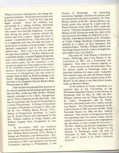 St Luke's Episcopal Church 165th Anniversary History pg 19 (Anna L and John F Nash Collection)