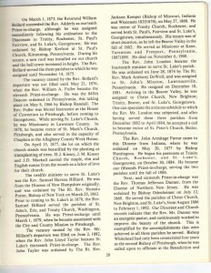 St Luke's Episcopal Church 165th Anniversary History pg 20 (Anna L and John F Nash Collection)