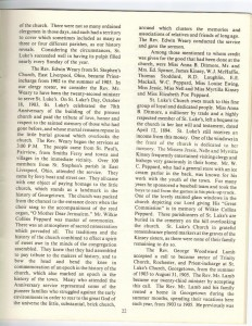 St Luke's Episcopal Church 165th Anniversary History pg 22 (Anna L and John F Nash Collection)