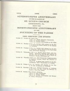 St Luke's Episcopal Church 165th Anniversary History pg 24 (Anna L and John F Nash Collection)