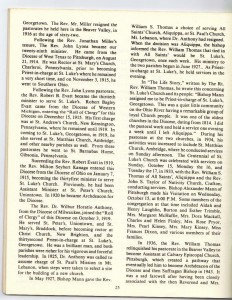St Luke's Episcopal Church 165th Anniversary History pg 25 (Anna L and John F Nash Collection)