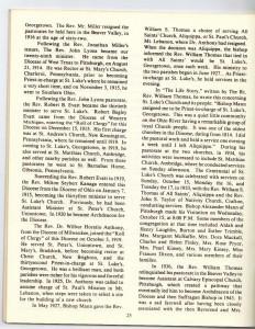 St Luke's Episcopal Church 165th Anniversary History pg 25 (Anna L and John F Nash Collection)