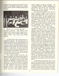 St Luke's Episcopal Church 165th Anniversary History pg 26 (Anna L and John F Nash Collection)