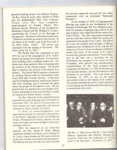 St Luke's Episcopal Church 165th Anniversary History pg 31 (Anna L and John F Nash Collection)