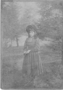 Grace Wilkins Thayer 14 Oct 1889 (Anna L and John F Nash Collection)