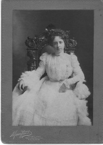 Grace Wilkins Thayer 1900 (Anna L and John F Nash Collection)