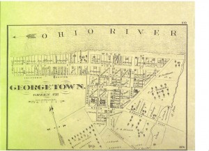 Georgetown Map dated 1876 (F Nash Collection)