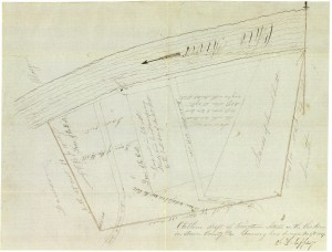 Georgetown Outline Surveyed on 17 Dec 1847 (Frances and John Finley Collection)