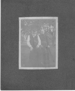 Capt Andre H Parr and Elizabeth Calhoon (Collection of Anna L and John F Nash)