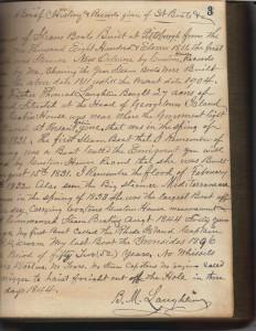 BM Laughlin Book Preface (Frances and John Finley Collection)